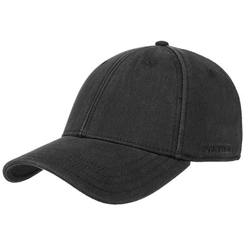 Gorra de Beisbol Amherst Flex by Stetson gorra de beisbolgorra de baseball (L/XL (58-61) - negro)