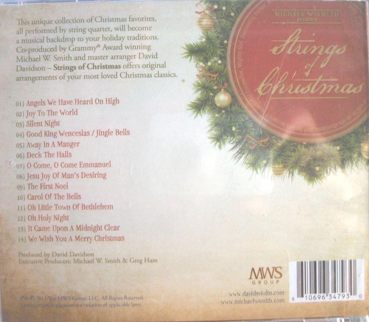 Michael W. Smith Presents Strings of Christmas - Amazon.com Music