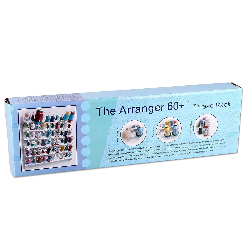 Garnrollenhalter f/ür 60 Spulen geeignet f/ür alle Spulengr/ö/ßen