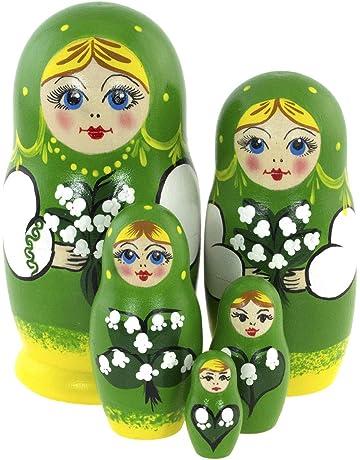 Snarky Whimsical Adult Christmas Decor Handmade Mature Gift Funny Sarcastic Alcohol Babushka Nesting Doll Wood Ornament
