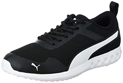 487384b4d9f Puma Men s Happyfeet Idp Black and White Running Shoes-11 UK India ...
