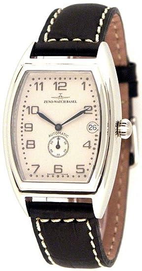 Zeno-Watch Reloj Mujer - Tonneau Retro Automática Retro 6-8081-6-e2: Amazon.es: Relojes