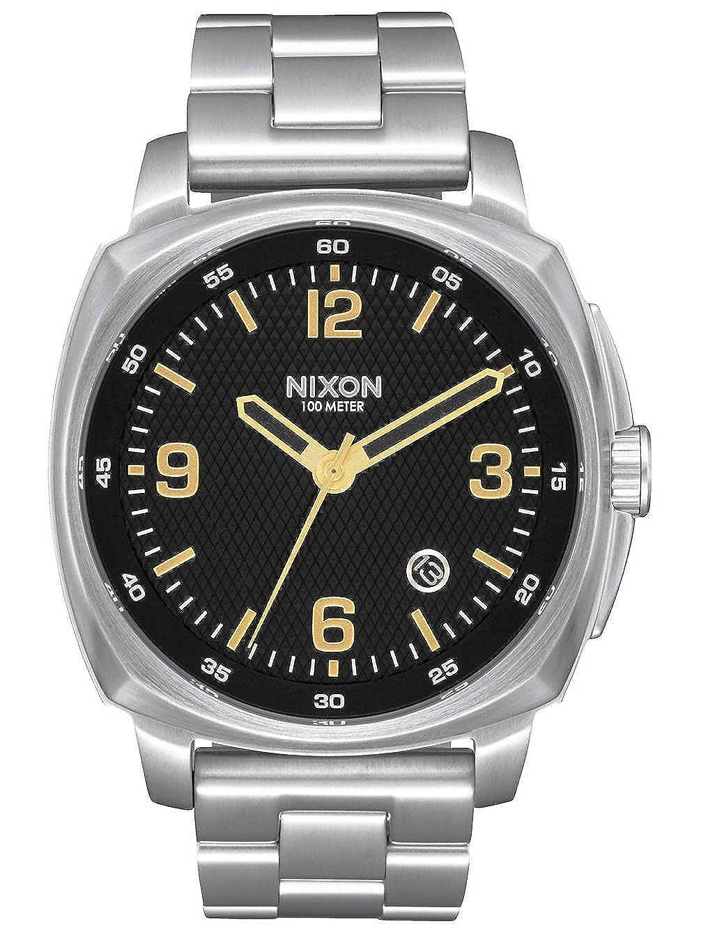 Nixon Reloj Analogico para Unisex de Cuarzo con Correa en Acero Inoxidable A1072-2730-00