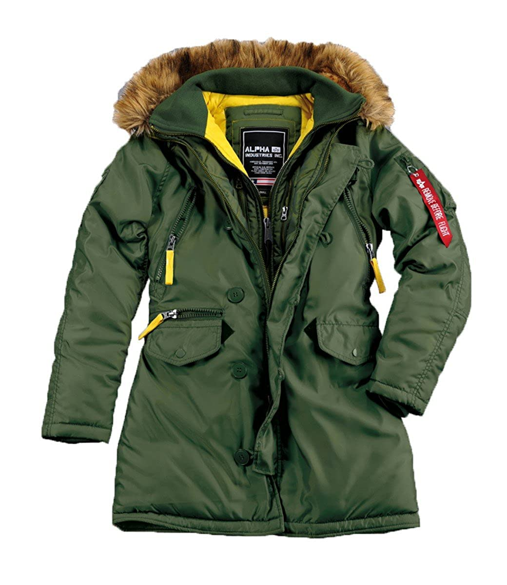 Alpha industries winterjacken damen