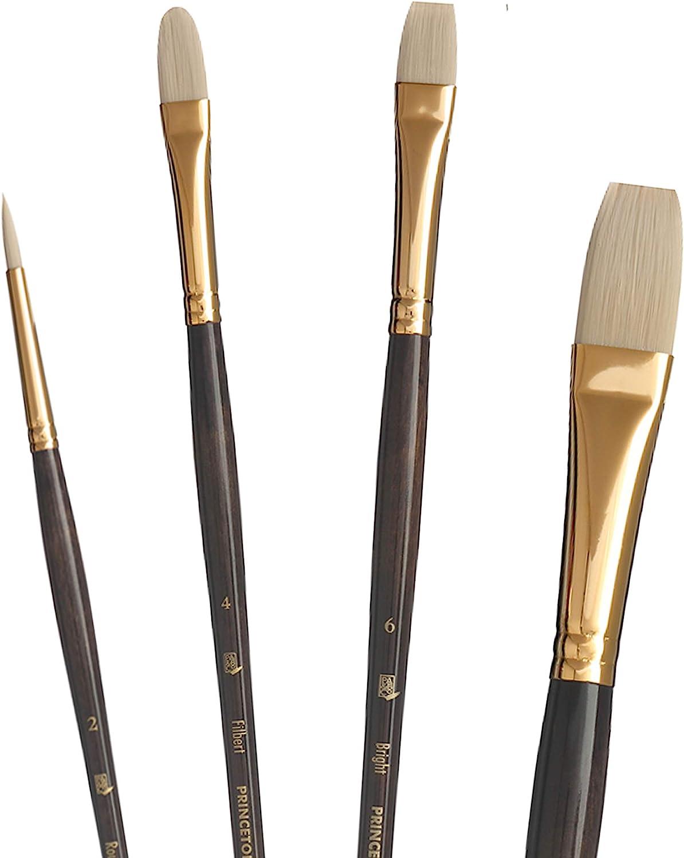 Princeton Series 6300 Synthetic Bristle Acrylic /& Oil Brush 10 flat