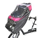 LABOCLE ラボクル プレミアムチャイルドシートレインカバー 自転車用 フロントチャイルドシート用雨よけカバー L-PCF01