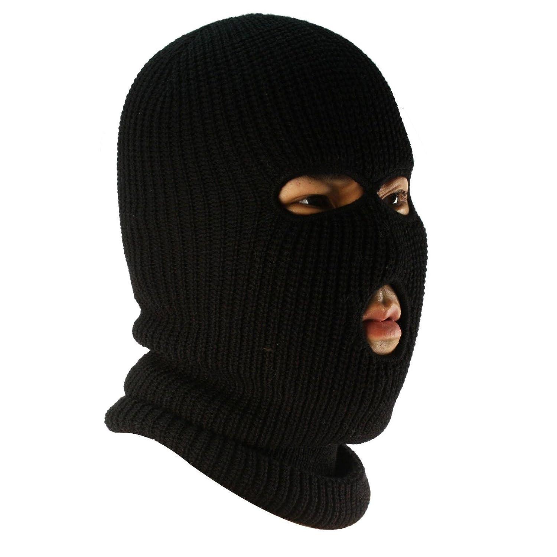 Men\'s Winter Knit Ski Sports Long Neck warmer Balaclava 3 Hole Face ...