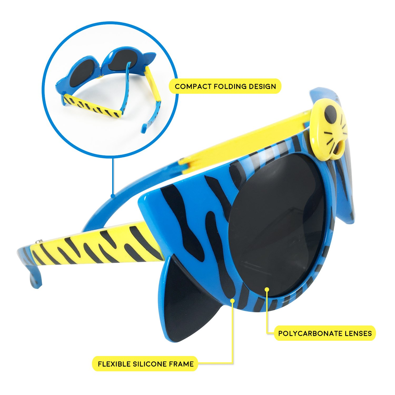 f7960f6d96 Amazon.com  Kids sunglasses - baby sunglasses - toddler sunglasses - party  decorations - party favours  Clothing
