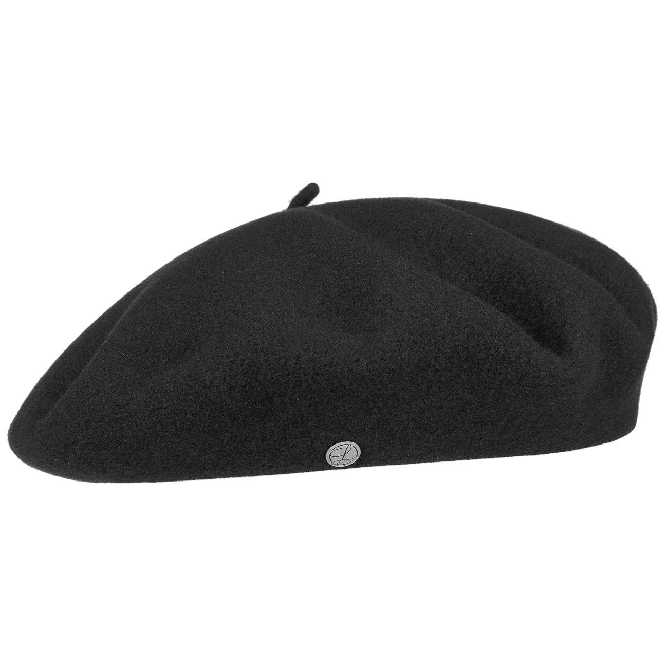 Authentique Classic Wool Beret - Black