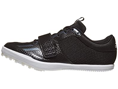 new style 33ef0 e03ee adidas Jumpstar Spike Shoe - Men s Track   Field 6.5 Core Black White