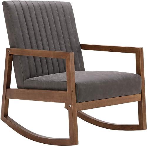 Mid Century Rocking Nursery Chair