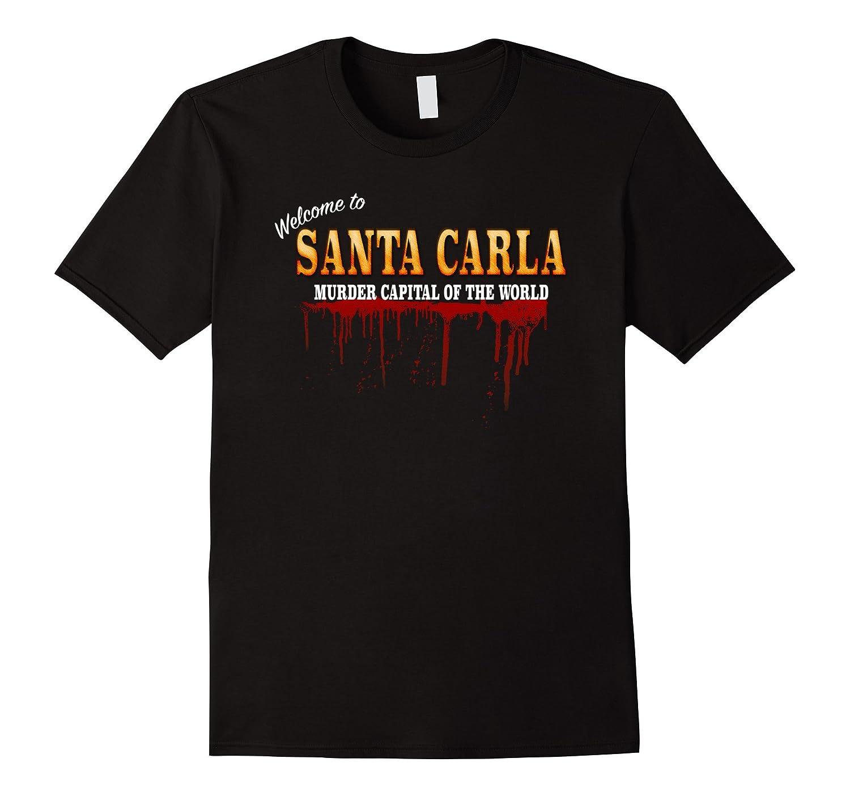 Welcome To Santa Carla - Vintage Retro Vampire Movie T Shirt-mt