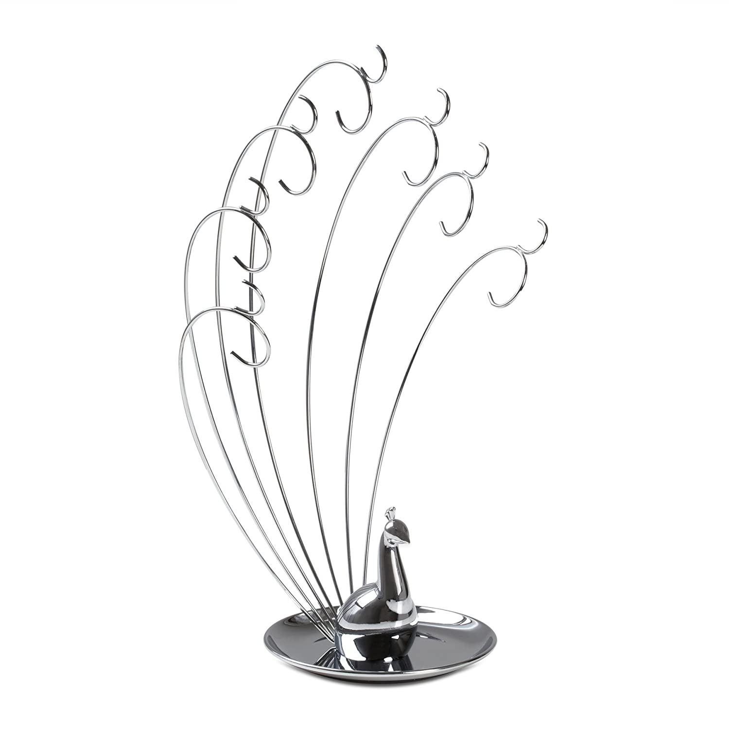 Amazoncom Umbra Peacock Metal Jewelry Stand Home Kitchen