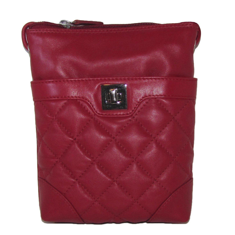 Quilted Leather Mini Sac Cross-body Handbag