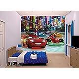 "Walltastic ""Disney Cars"" Wallpaper Mural, 8 x 10 ft"