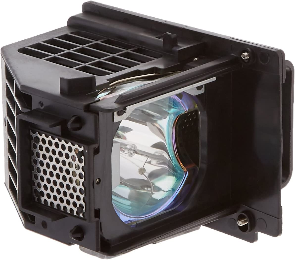 Original Philips Bulb Inside Mitsubishi WD-65638 Replacement TV Lamp with Housing by KCL