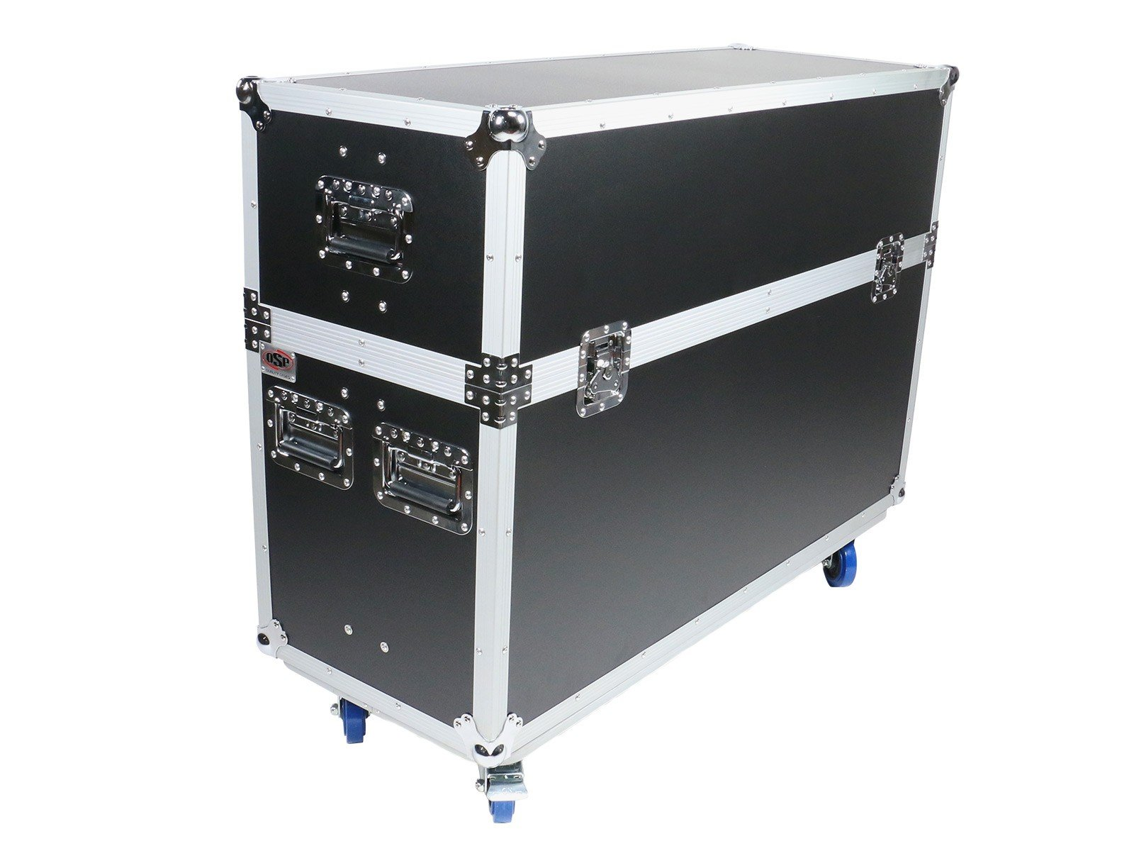 OSP Cases | ATA Road Case | Flight Case for (2) LED Screens up to 55'' | ATA-LED-55X2