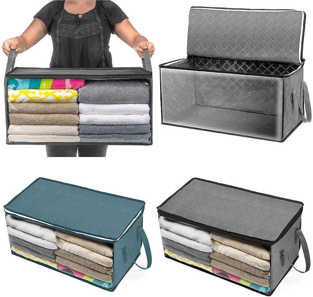 Meihet Faltbare Aufbewahrungstasche Heimtextilien Staubdicht Feuchtigkeitsbest/ändige Aufbewahrungsbox Aufbewahrungsboxen
