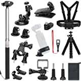 SKYREAT Expansion Accessories Kit for DJI Osmo Pocket Handheld Camera Mounts Chest Strap Bike Car Mount Tripod Holder for Osmo Pocket