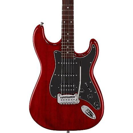 G & L edición limitada homenaje legado HSS pintado headcap – Guitarra eléctrica, color rojo