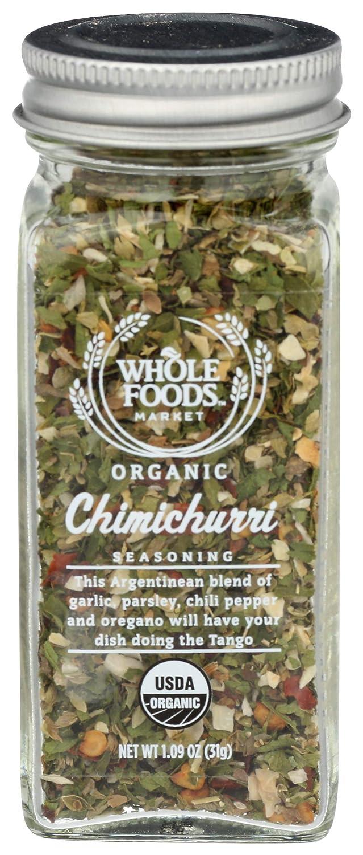 Whole Foods Market, Organic Chimichurri Seasoning, 1.09 oz
