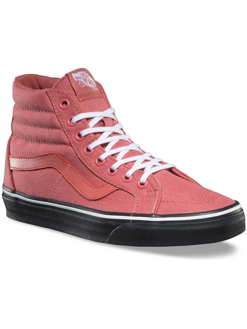 Vans Sk8-Hi Reissue Skate Shoes Faded Rose/Black 8 B(M) US