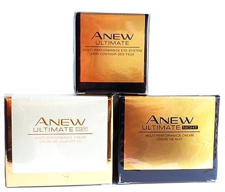 AVON Anew Ultimate Multi-Performance Day Cream Night Cream Eye System SET