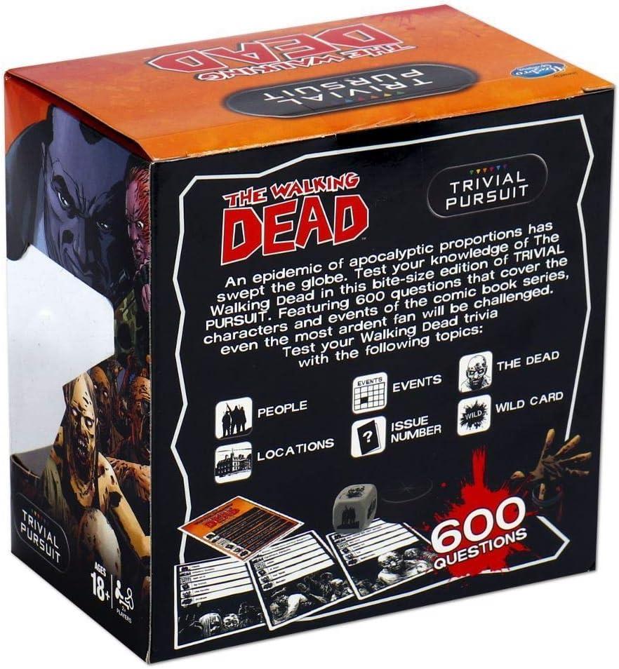 Winning Moves- Trivial Persecución - Walking Dead (cómic), Color The (33398) , color/modelo surtido: Amazon.es: Juguetes y juegos