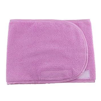 Homyl 1 pieza de Toallas Venda de Ducha para Salón Toallas de Manos Suave Absorbente - Púrpura: Amazon.es: Belleza