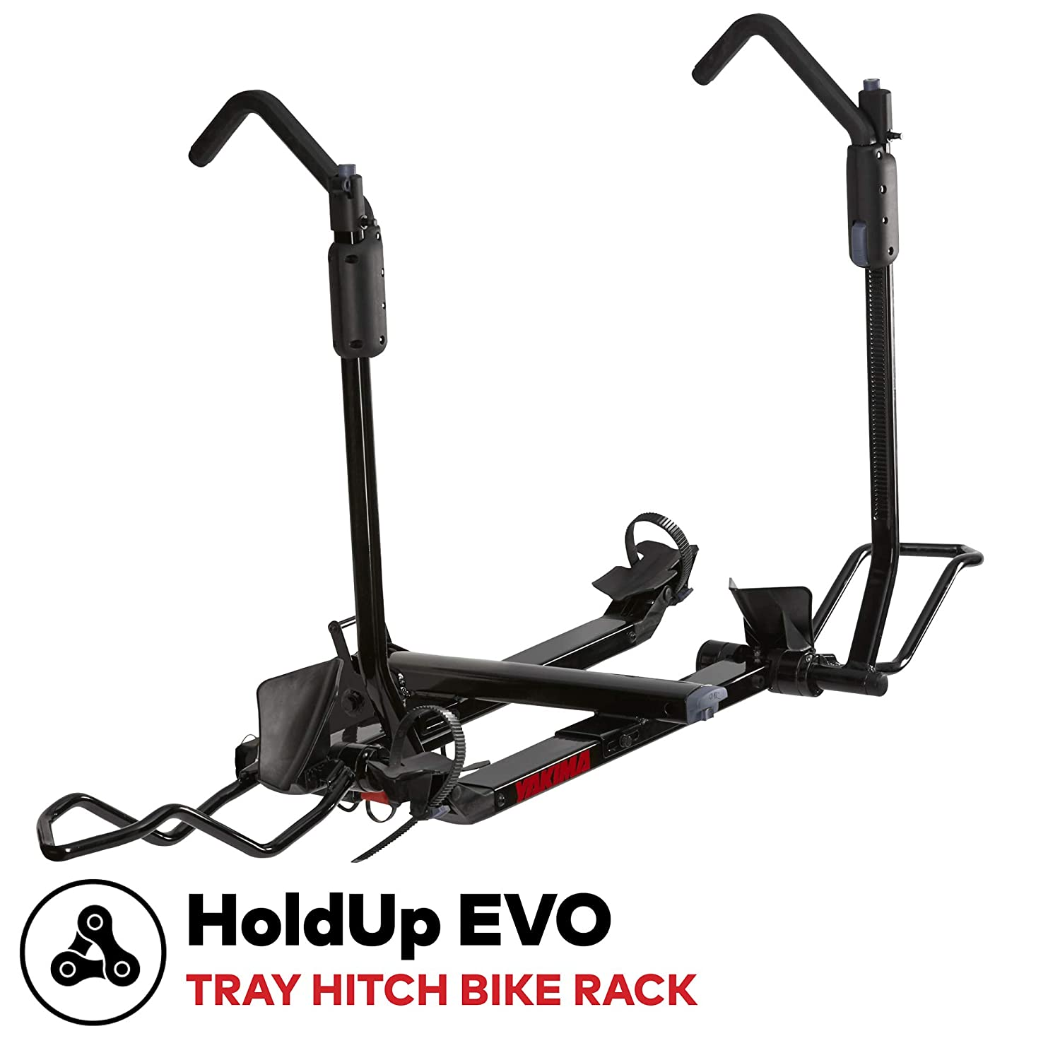yakima – HoldUp EVO 2 Hitch Mounted Tray Bike Rack, 2 Bike Capacity
