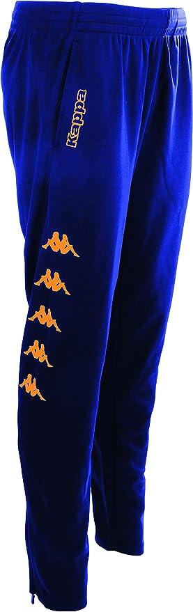 Pantalón Kappa para hombre barato de color azul con logo neón