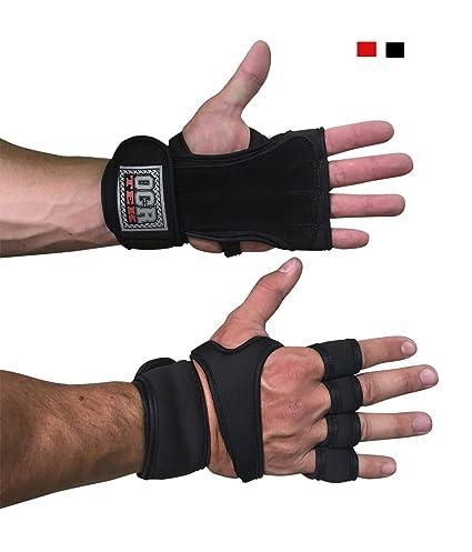 Guantes de entrenamiento con muñequera para entrenamiento, Crossfit, levantamiento de pesas, dominadas,
