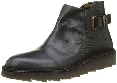 FLY London Damen Adit951fly Desert Boots, Schwarz (Black), 39 EU