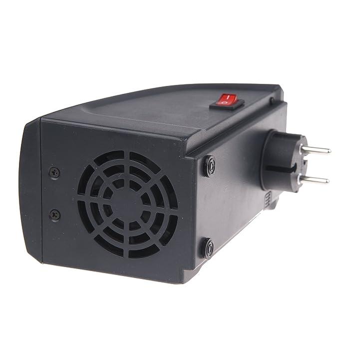 Vinteky® Portátil, Seguro, Bajo consumo, 400W MINI Calefactor de pared Heater Eléctrica con LED digitales Estufa inteligente para el control de tiempo ...