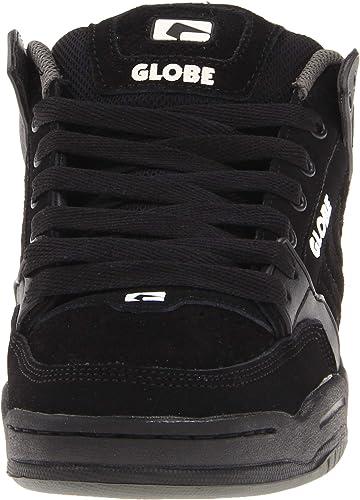Globe Black-Black-Red Tilt Kids Shoe Kids US 3, Black