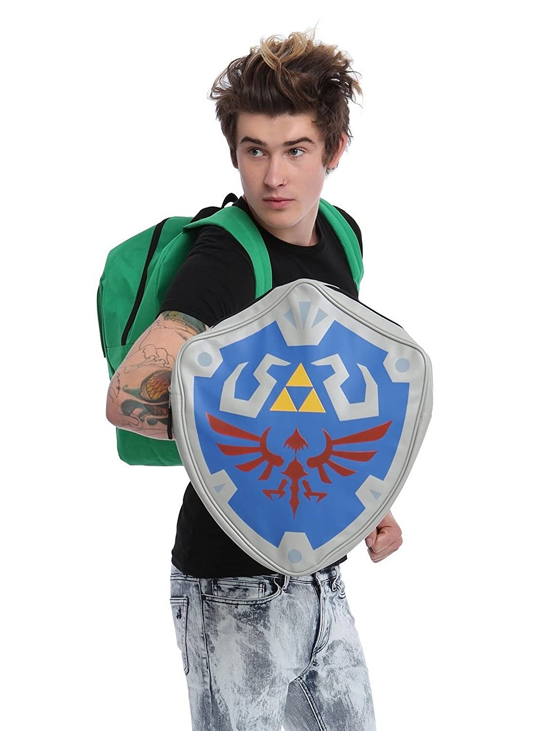 The Legend Of Zelda Removable Shield Backpack