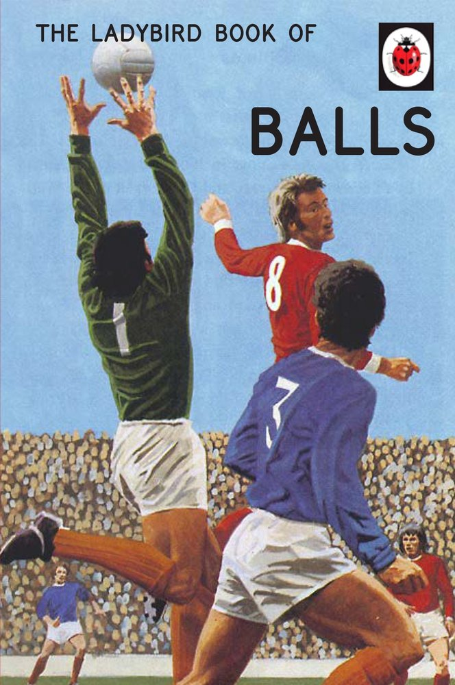 The Ladybird Book of Balls (Ladybird for Grown-Ups)
