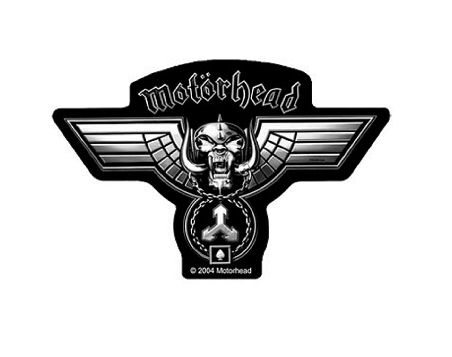 Motorhead Hammered Cut Out Patch Black