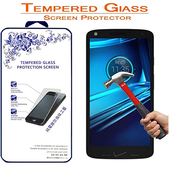 Moto Droid Turbo 2 Glass, for Motorola Droid Turbo 2 Tempered Glass, Nacodex Premium