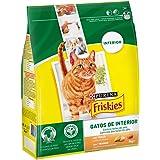 Purina Friskies Interior Comida para Gato, Seco, con Verduras - 3000 g