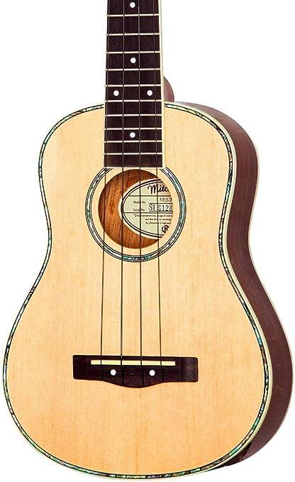 Amazon Mitchell Mu70 12 Fret Concert Ukulele Natural Musical