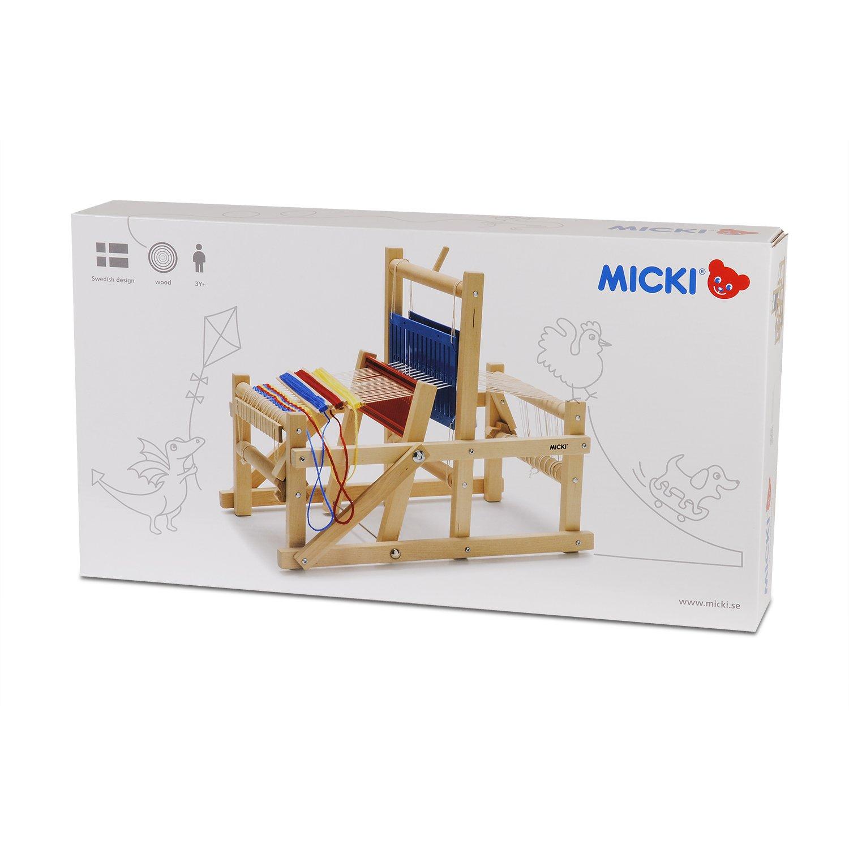 Importado de Alemania Micki 10.0259.00 Telar en madera