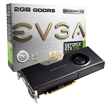 Amazon.com: EVGA GeForce GTX770 Superclocked 2 GB GDDR5 256 ...