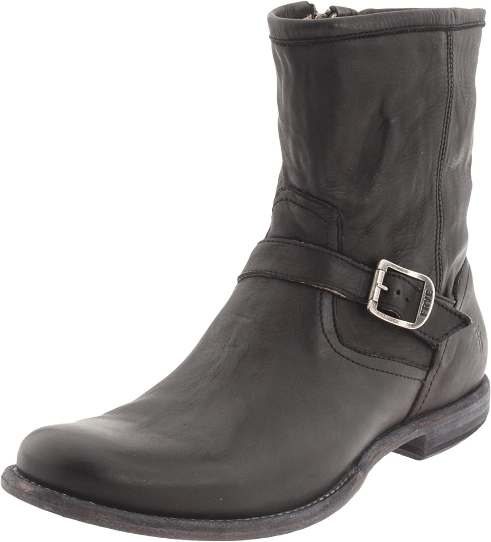 Amazon.com: FRYE Men's Phillip Inside Zip BootBlack11.5 M US: Shoes