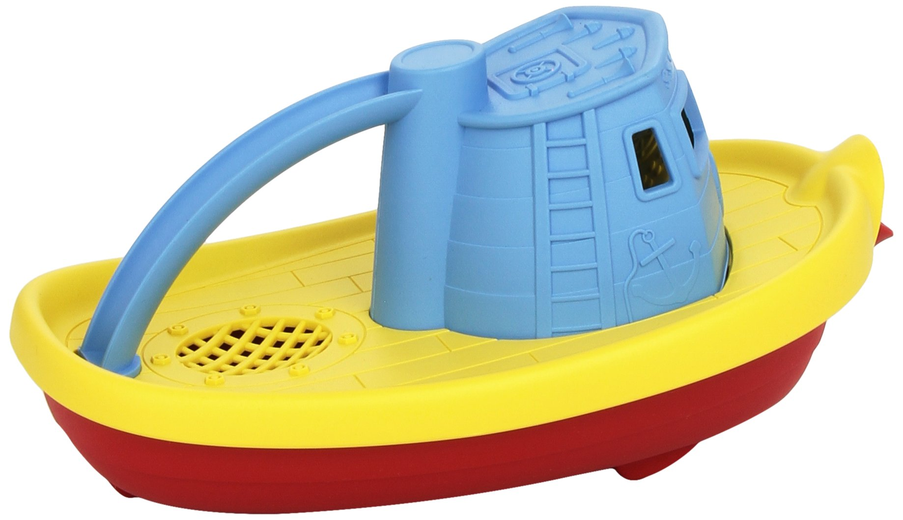 Green Toys My First Tug Boat Blue 4