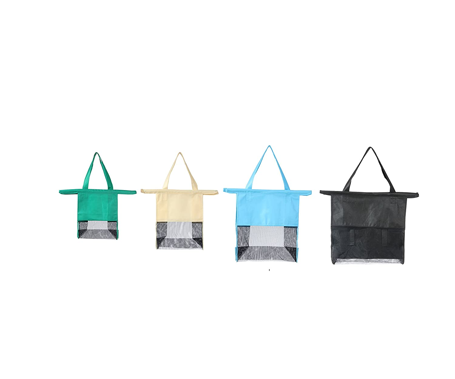 6a8d5974f4ee Amazon.com  Reusable Shopping Cart Bags and Grocery Organizer Designed for  Trolley Carts by Modern Day Living  Kitchen   Dining