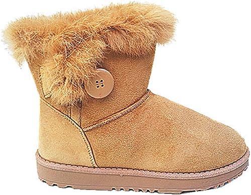 Fourrure Boots Fur Camel Botte Plat fourrées Talon 1109 Chaussure Hiver Femme Bottine Ib7f6vYyg