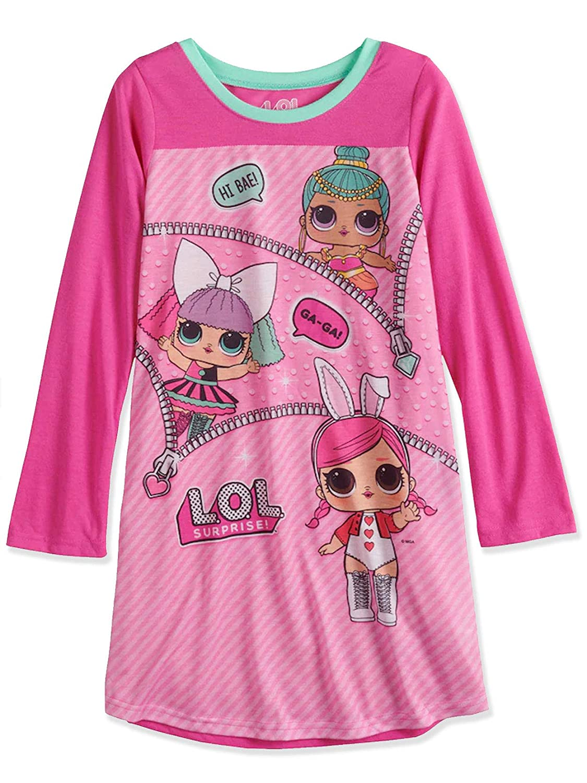 L.O.L. Surprise Girls Long Sleeve Nightgown Pajamas manufacturer