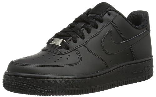 huge selection of 87c75 c2f86 Nike Mens Air Force 1 Low-Top Slippers, Black (Blackblack-