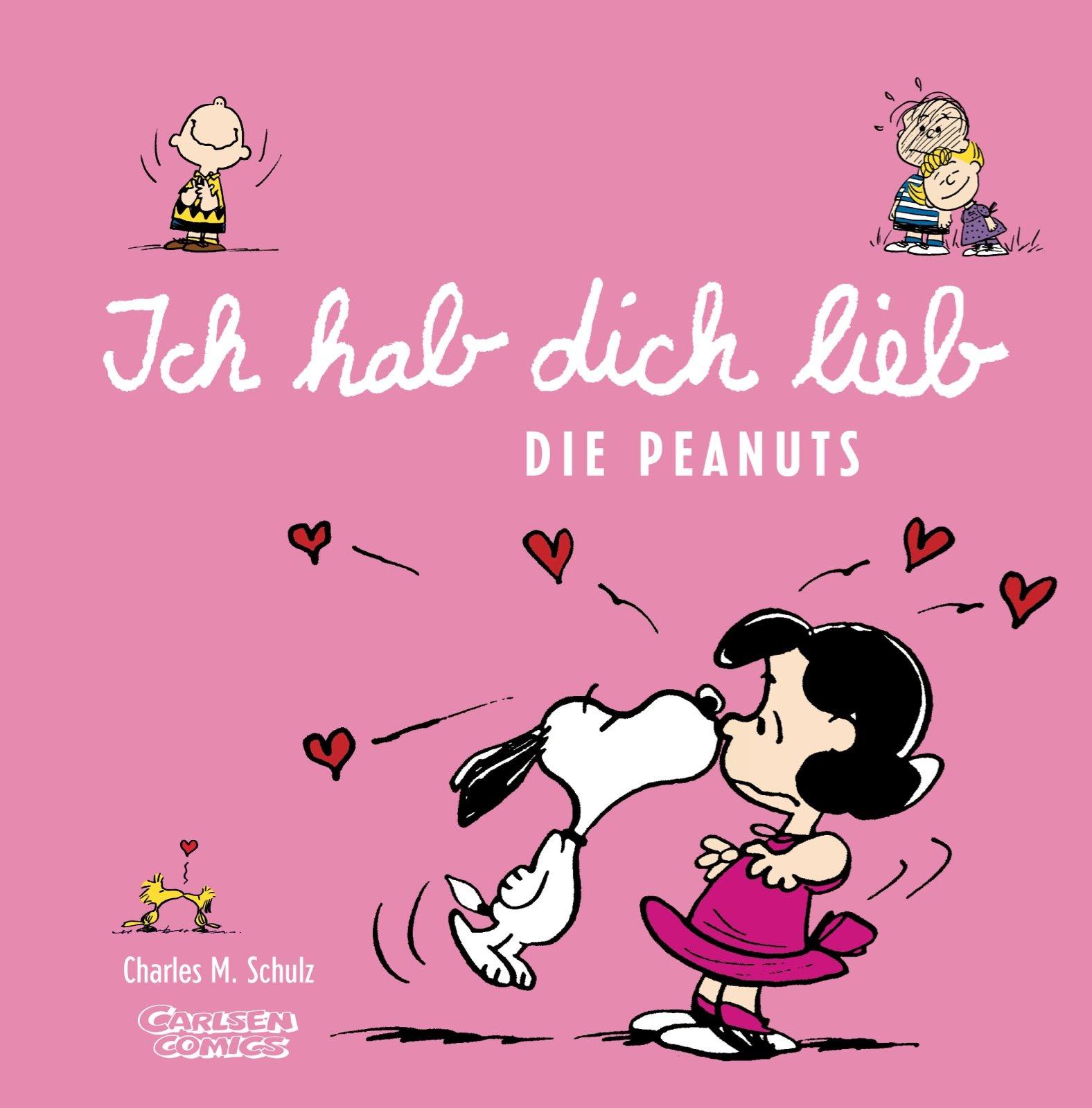 Peanuts Mini: Ich hab Dich lieb